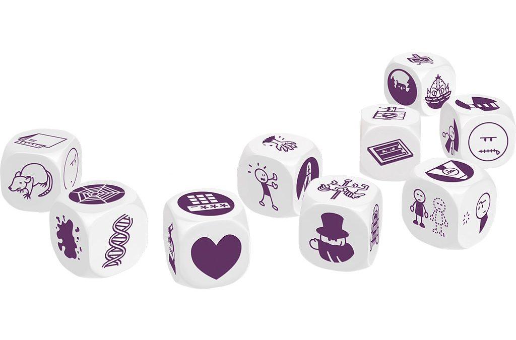 Storytelling skills through games (1): Story Cubes