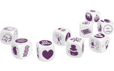 Storytelling skills through games (1): Story Cubes